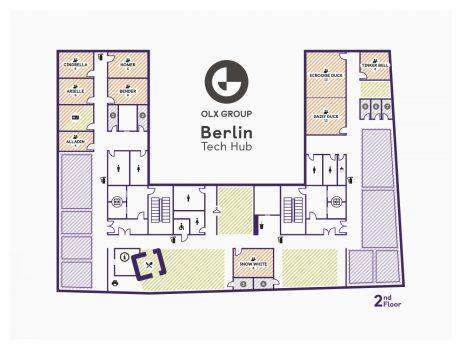OLX Group Berlin – Flooplan